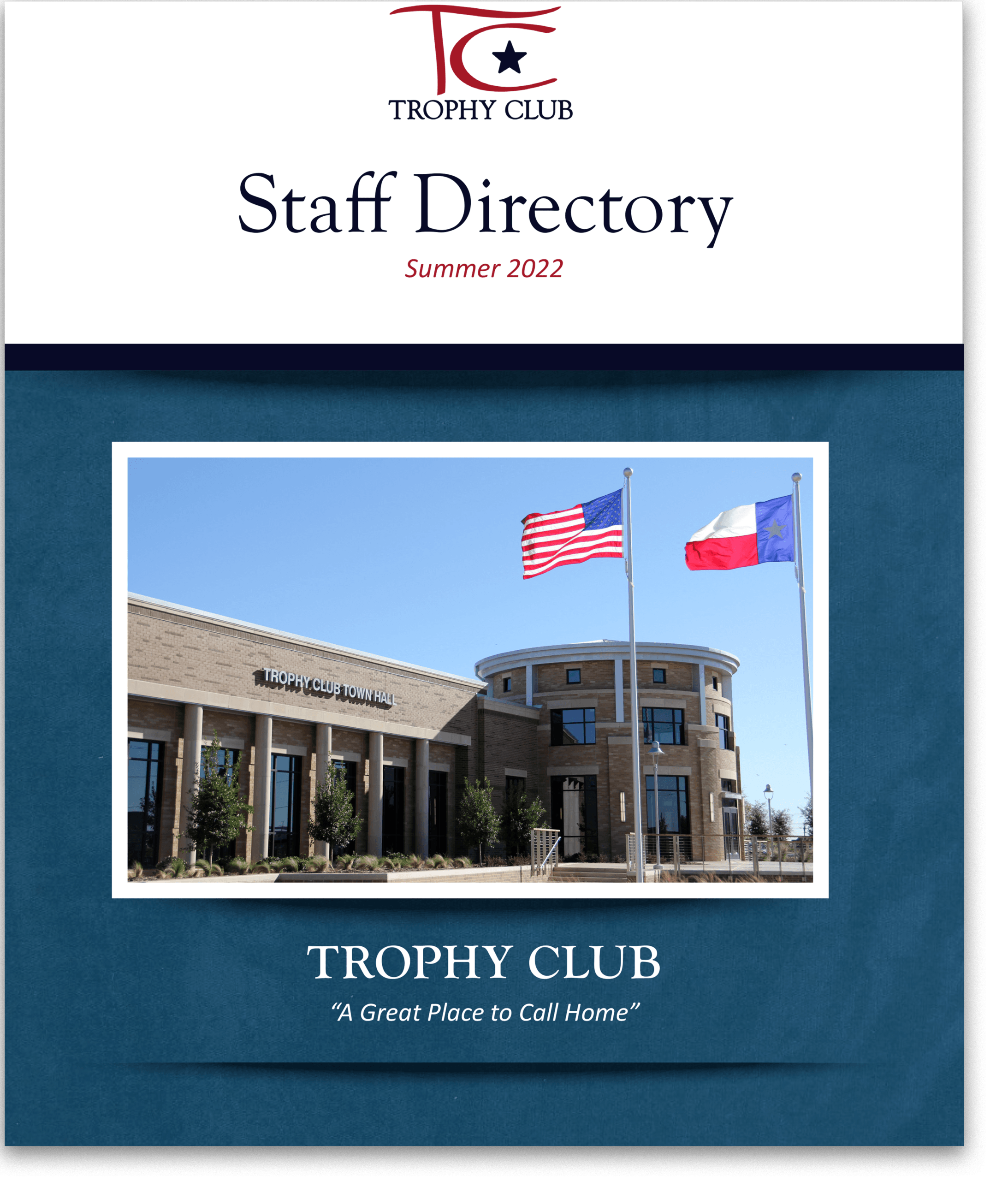 Trophy Club Staff Directory Org Chart w Texture- Spring 2019