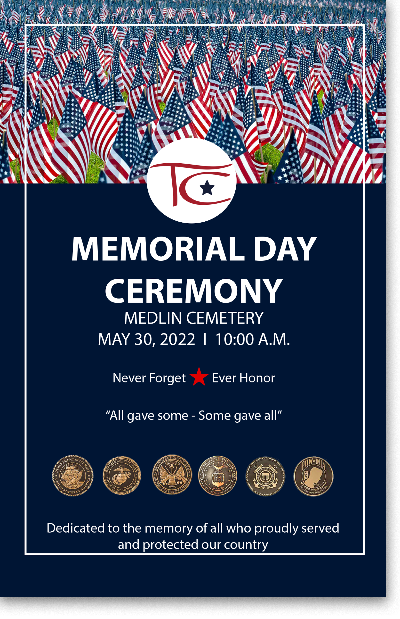 Memorial Day Program booklet 2019b
