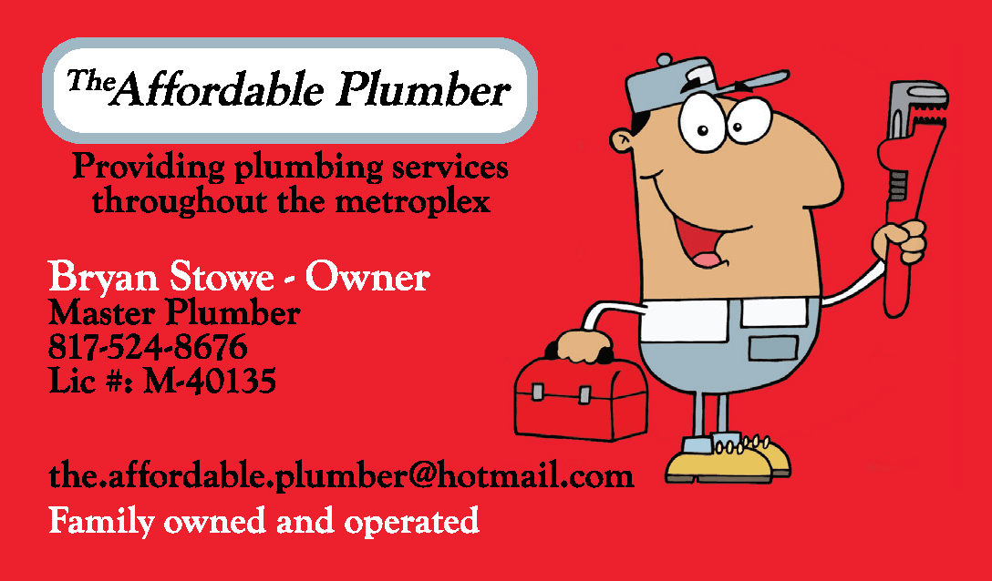 The Affordable Plumber Logo