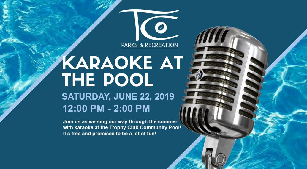 Karaoke at the Pool 2019