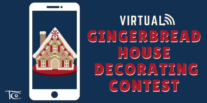 Gingerbread Decorating 2020 Website Banner