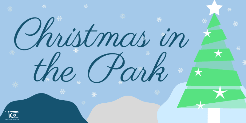 Christmas in the Park 2020 Website Banner
