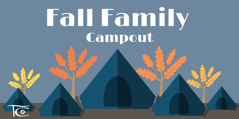 Fall Family Campout 2019 Website Banner