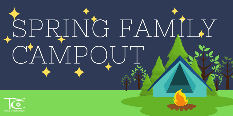 Spring Family Campout 2020 Website Banner