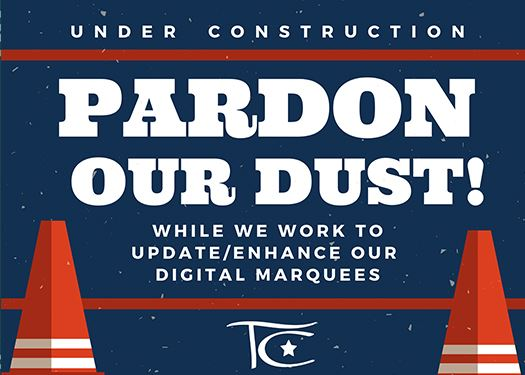 Pardon Our Dust Web