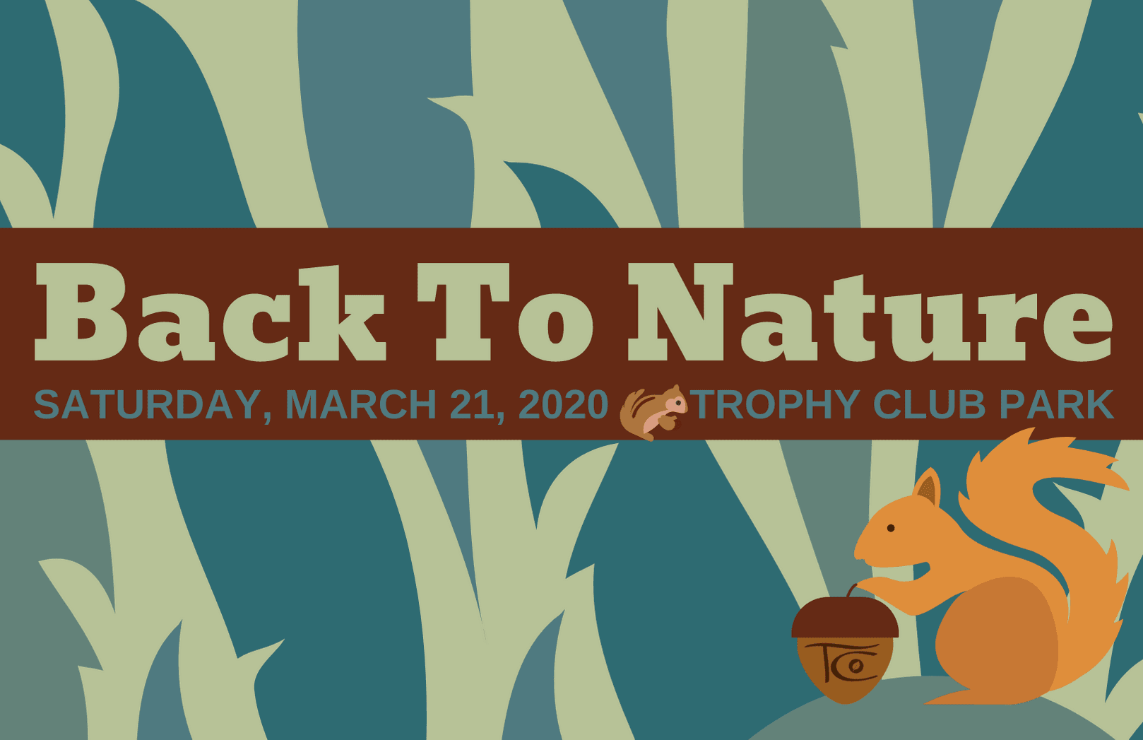 Save the Date for Back to Nature 2020!  An event that celebrates the great outdoors and Arbor Day!  Details coming soon...