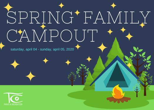 Spring Family Campout 2020 News Flash