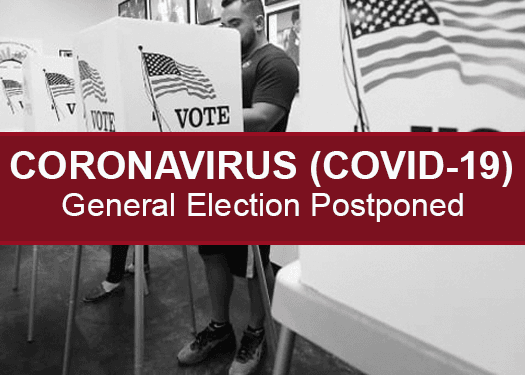 COVID-19- Election Postponed