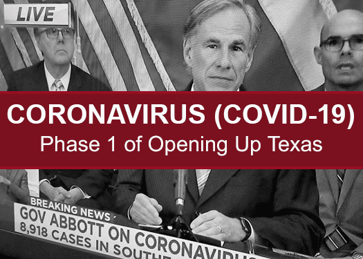 COVID-19- Gov Abbott Phase 1