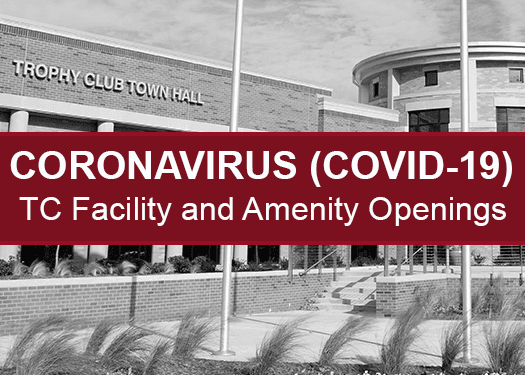 COVID-19- Town Hall and Amenity Openings