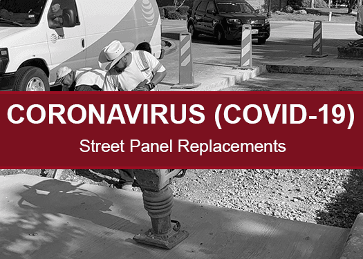 COVID-19- Street Panel Replacement