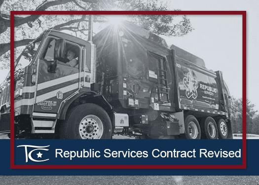 Republic Services Contract Renewed