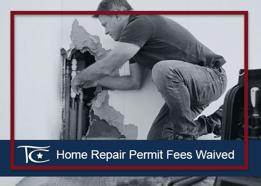 Home Repair Fee Waived