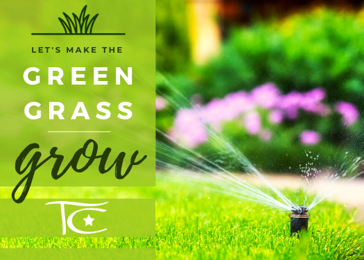 Watering and Grass