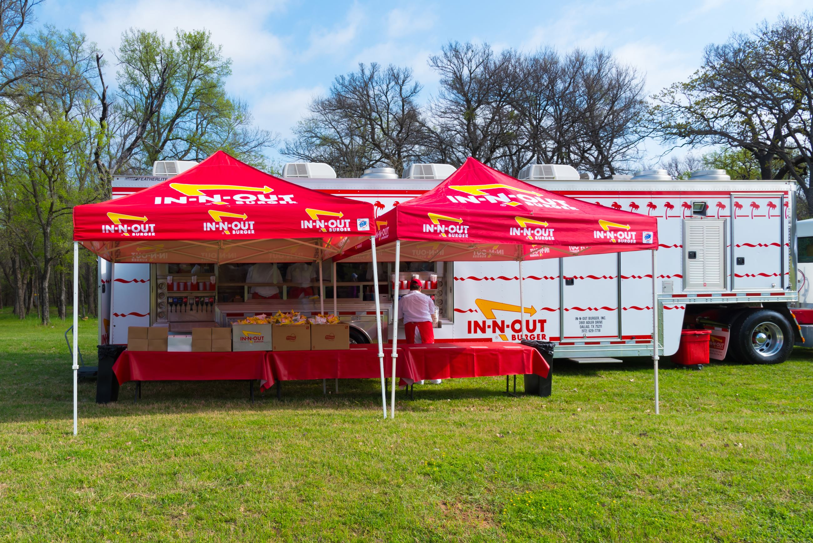 In-N-Out Burger Cookout Truck