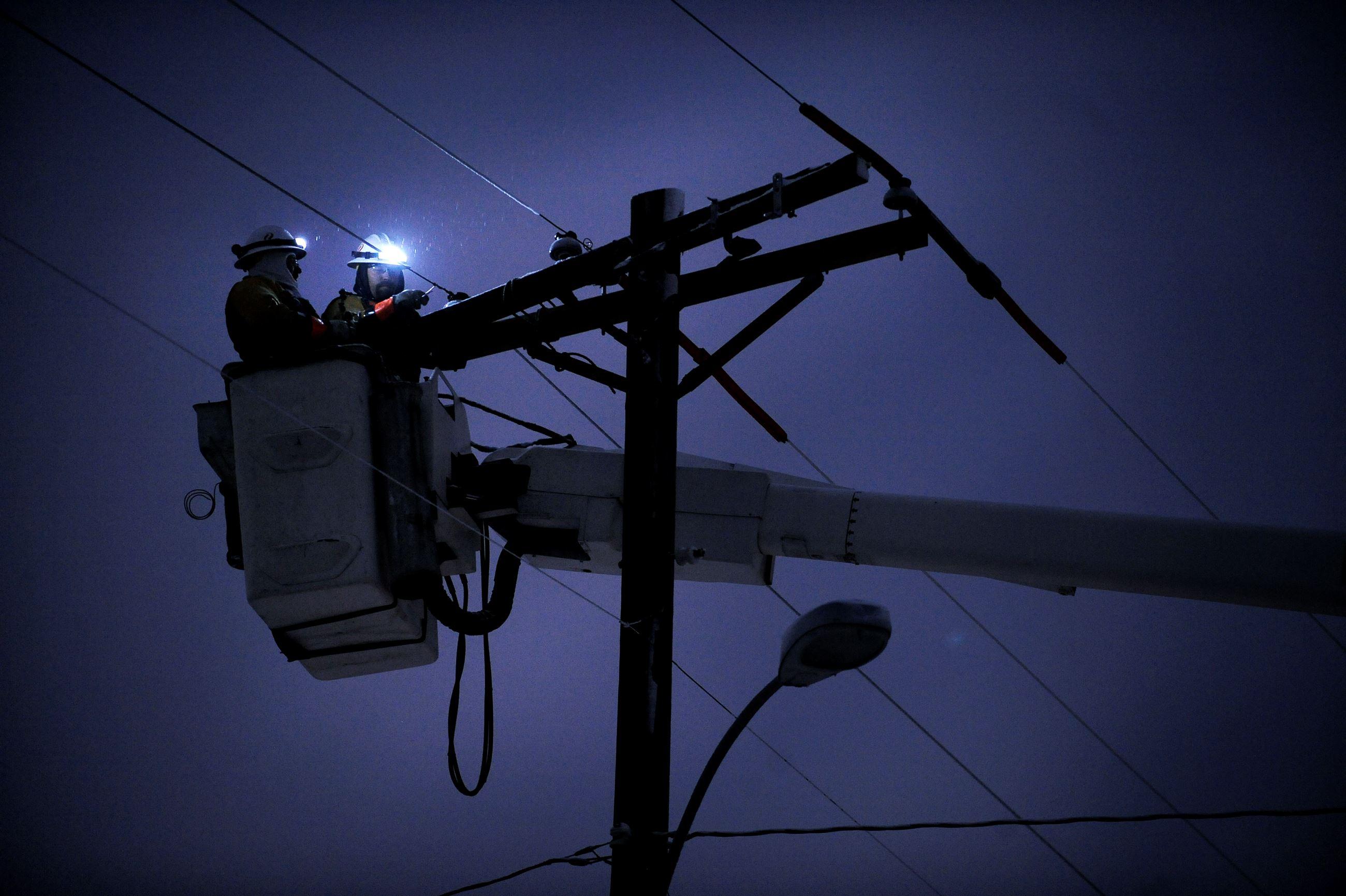 Power Outage Trophy Club Tx