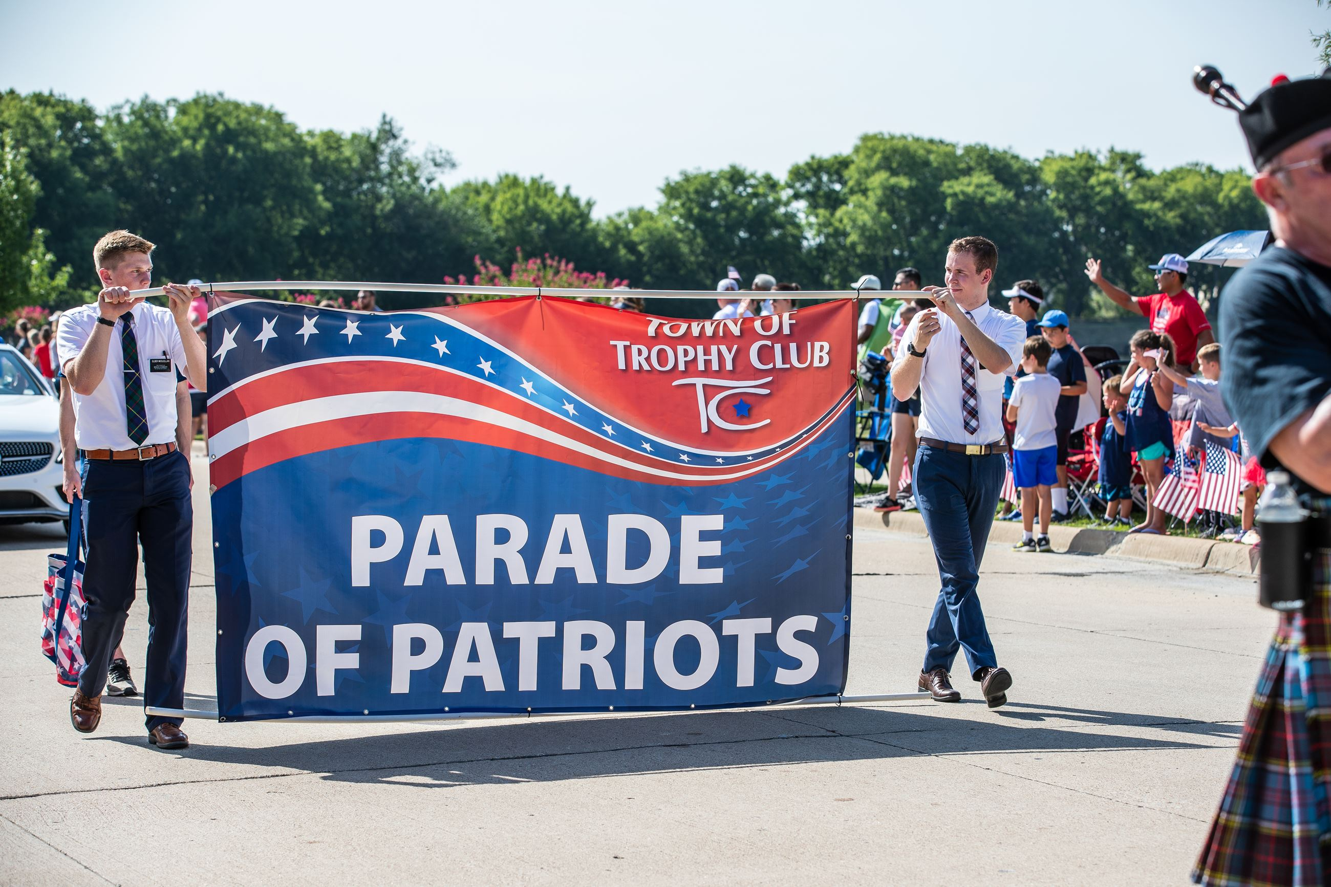 Parade of Patriots Banner
