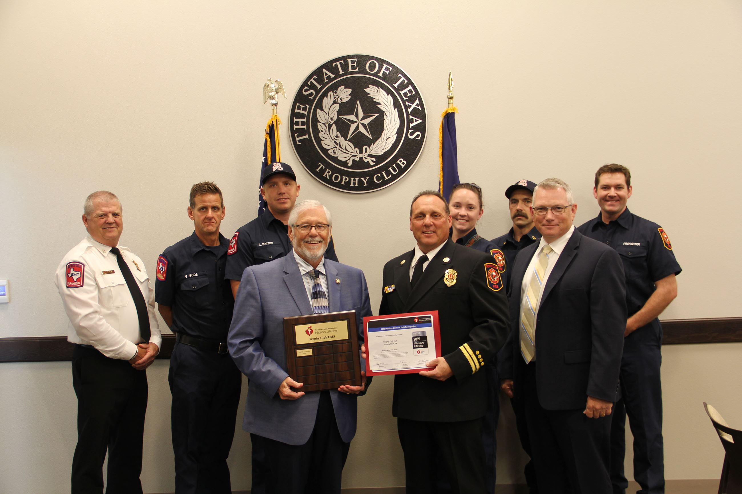 Town Council - Recognizing EMS Award 3