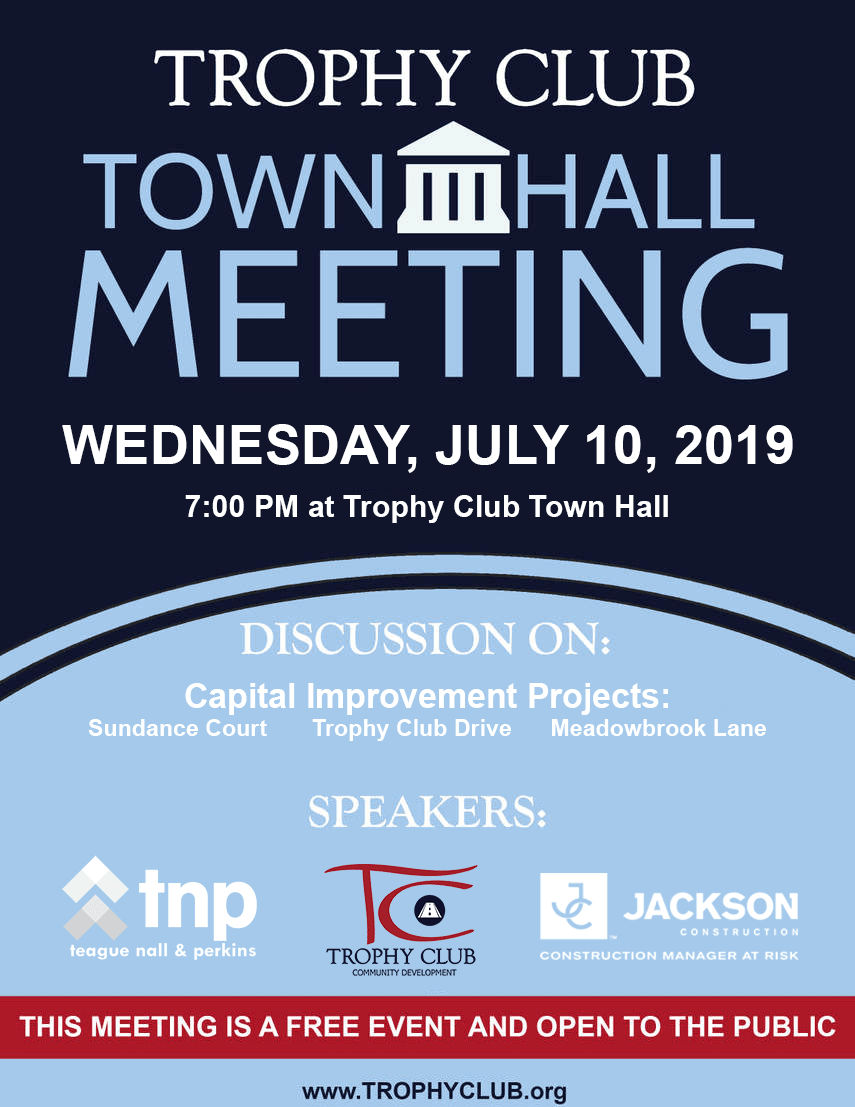 Town Hall Meeting Notice