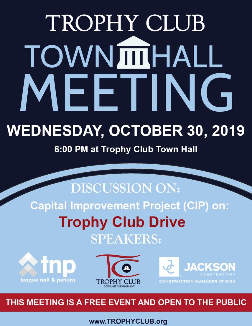 Town Hall Meeting Notice Oct Opens in new window