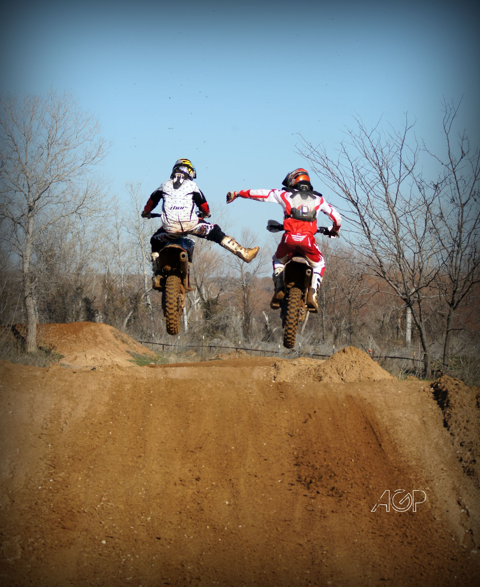 Two Moto X riders