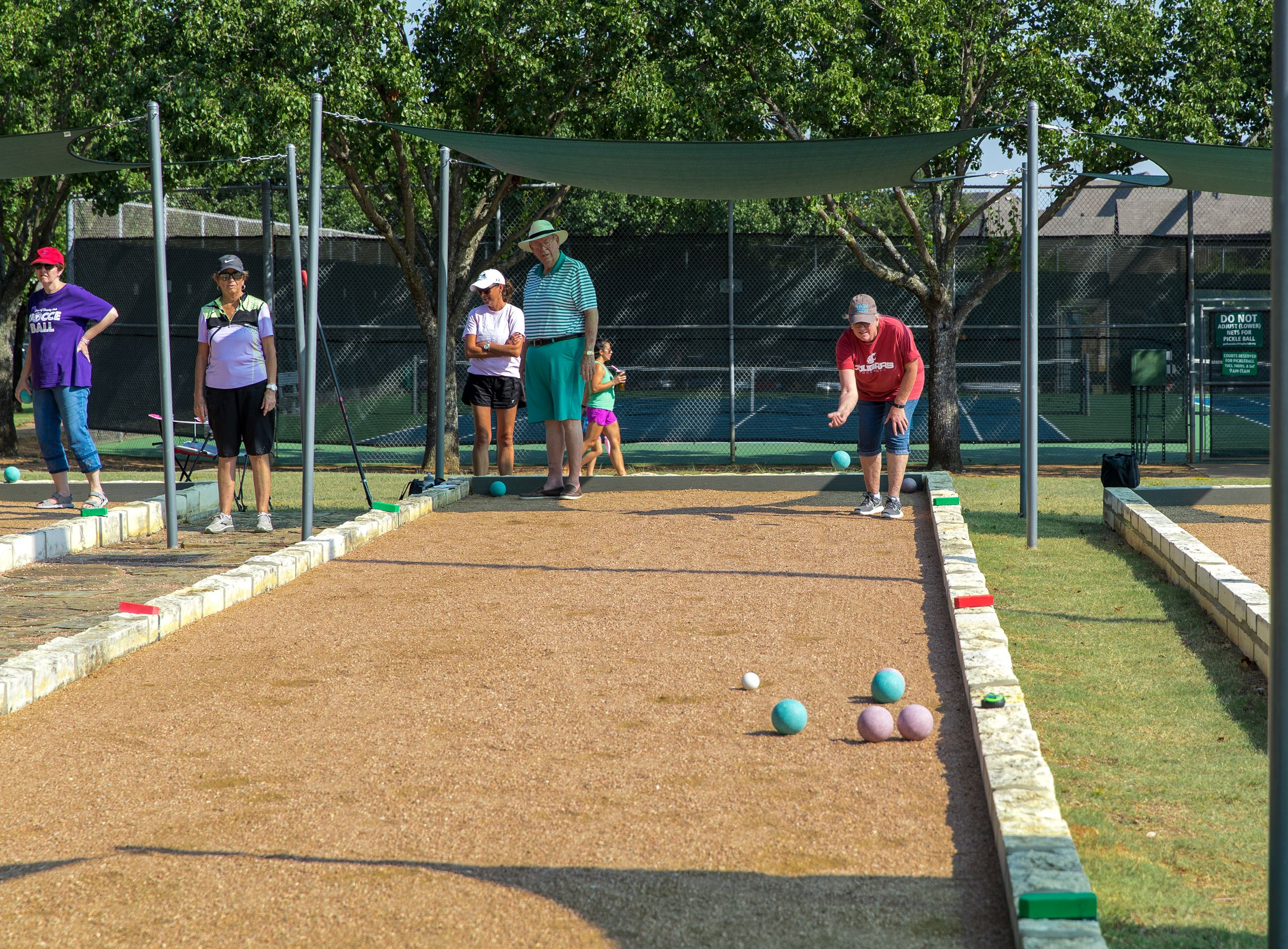 Bocce Ball Players