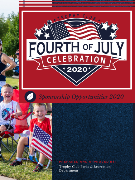 Fourth of July Sponsor Packet