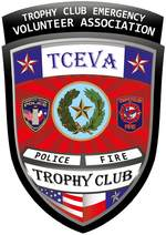 TCEVA Police Fire Trophy Club Badge