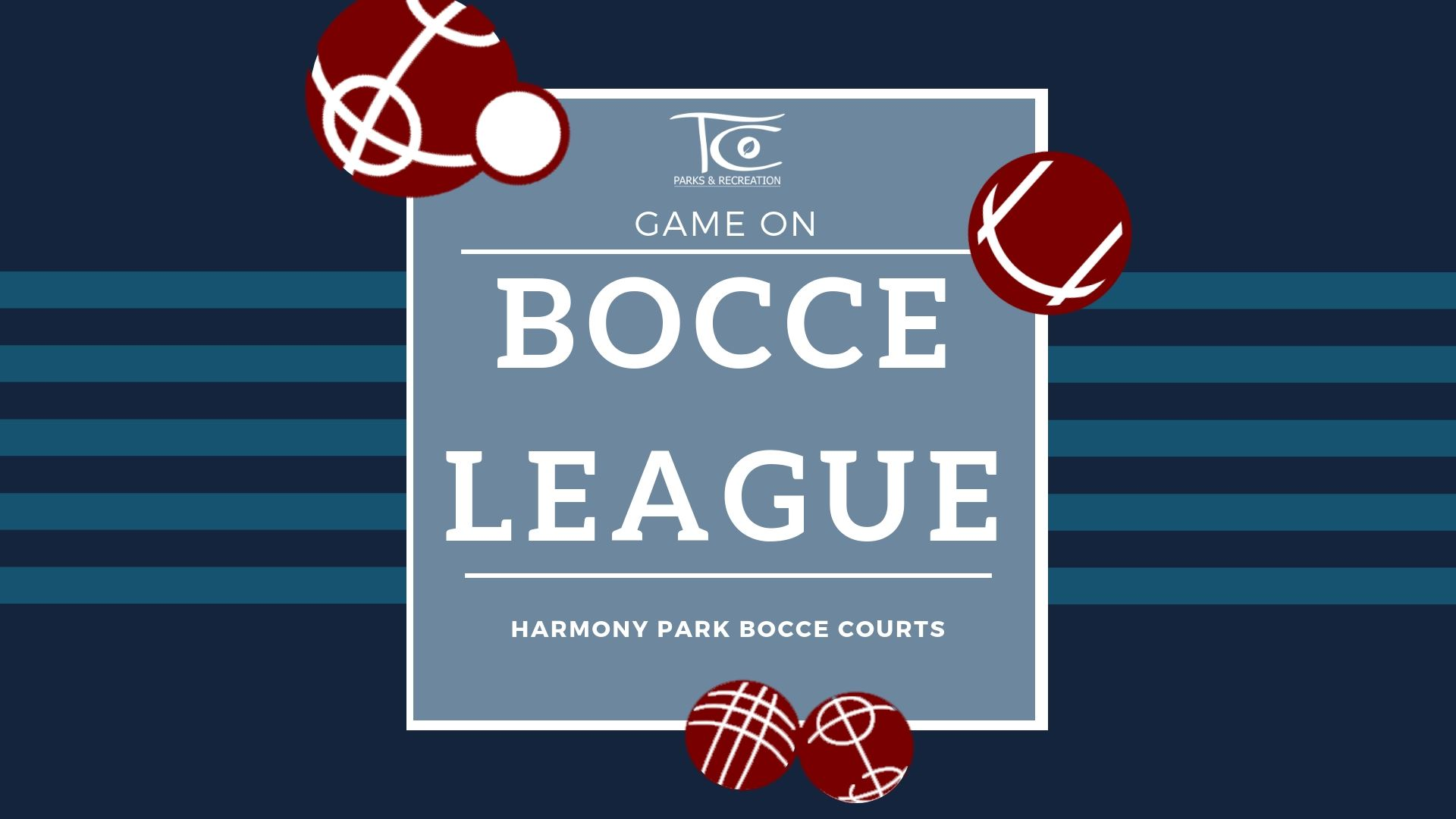 Bocce League - Banner